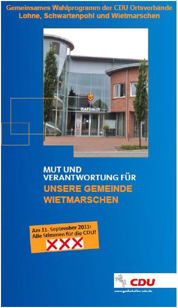 CDU Wahlprogramm 2016